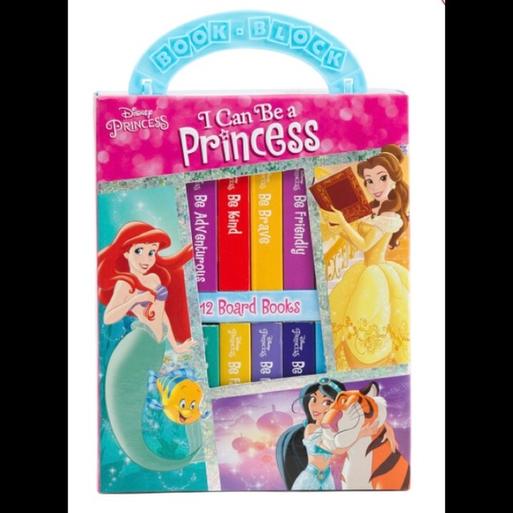 """Disney I Can Be a Princess """"My First Library"""" Set"""